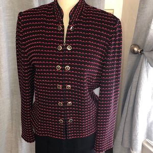 St John Collection by Marie Gray  knit jacket.